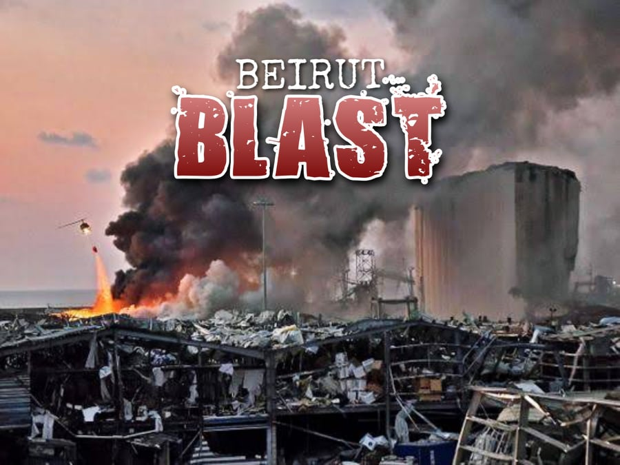 beirut blast photo