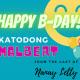 KATODONG MALBERT birthday