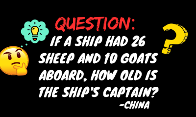 question from china to 5th grader