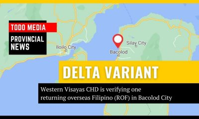 _one returning overseas Filipino (ROF) who was reportedly found positive for the delta variant